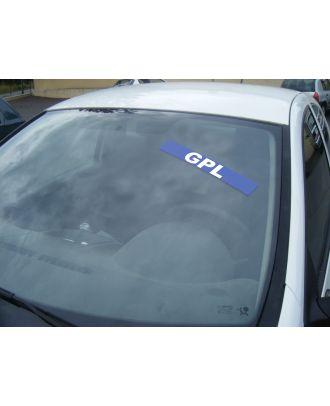 Autocollant pare brise GPL