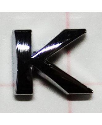 Lettre adhésive chromée K