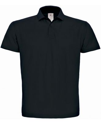 Polo homme manches courtes ID.001 PUI10 - Black