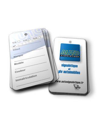 Etiquette de clé AST AUTOSIGNALETIQUE